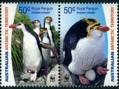 AU_2007_AAT_WWF_ROYAL_PENGUINS_MNH_SS0003