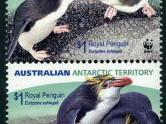 AU_2007_AAT_WWF_ROYAL_PENGUINS_MNH_SS0004