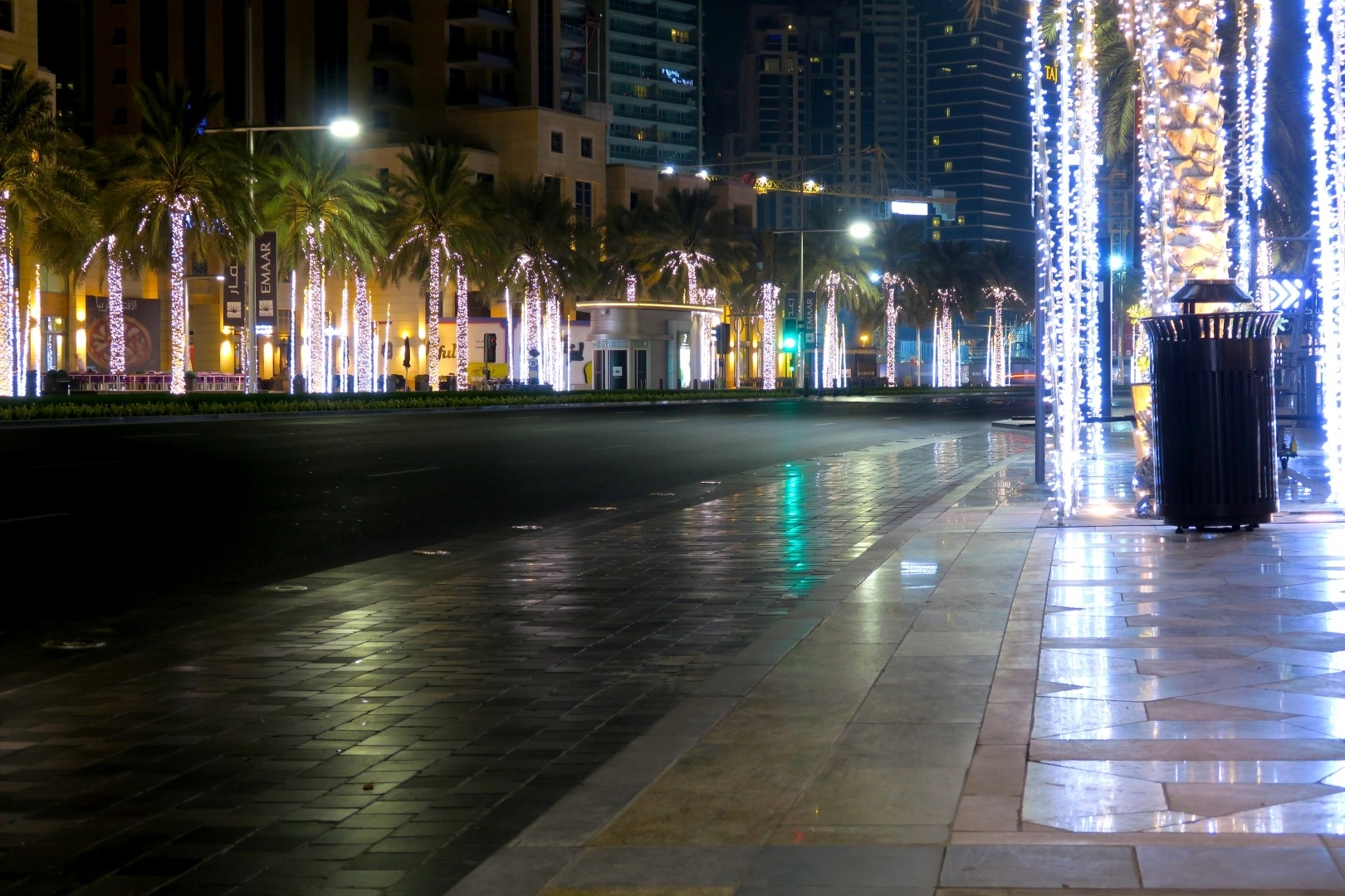 Streets of Dubai City